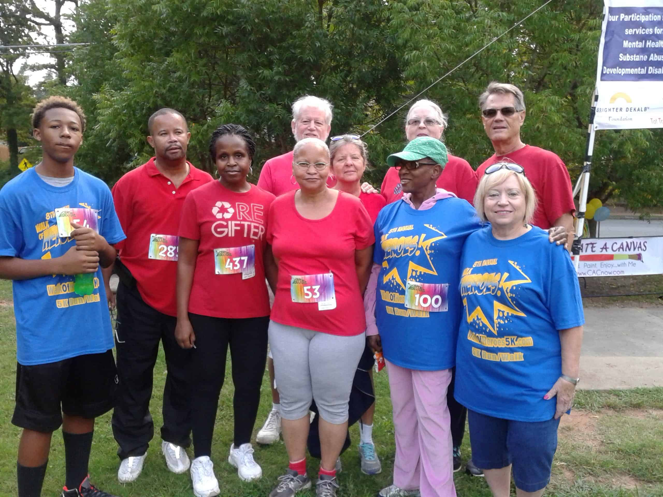 Walk Of Heroes Drcc Team   2014